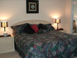 Osage Beach condo photo - Master bedroom suite with lake view