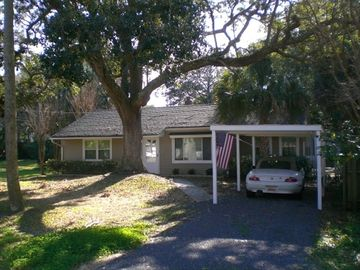Isle of Palms bungalow rental - Huge gracious oaks are a feature of this perfect beach bungalow!