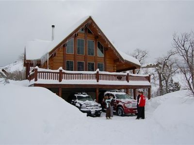 "Eden cabin rental - over 100"" in a Week!"