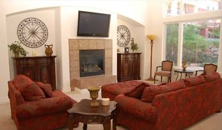 Lake Las Vegas house photo - Great Room offers comfortable oversized furniture for enjoying Home Theater