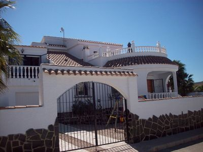 Mazarron house rental - Front Of Villa