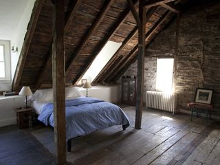 2nd floor Master bedroom - Hudson Highlands farmhouse vacation rental photo