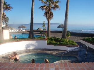 Las Gaviotas house photo - Community Beach side hot tub & pool