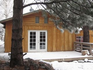 Wrightwood cabin photo - The Hideaway vacation cabin rental in the snowy hills of Wrightwood near Mt High