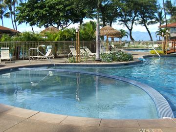 The children's pool at Maui Kaanapali Villas