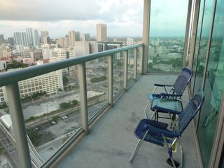 Miami condo photo - balcony