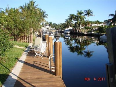 40' Foot Dock. Ocean access. 10' fixed bridge. 8000 lb Boat lift.