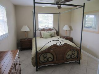 Vacation Homes in Marco Island house photo - Queen Bedroom w/ walk-in closet