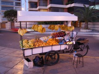 Miraflores condo photo - Fruit Vendor on the Malecon