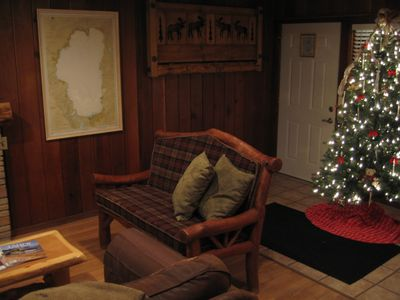 Lakeview Cabin during the Holidays!