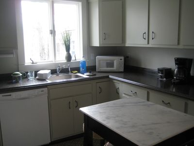 Main House Kitchen - fully equipped - great counter space and dishwasher.