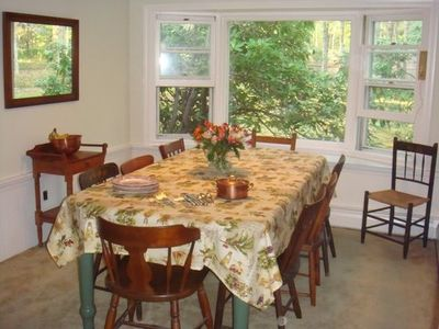 Orleans house rental - Dining Room open to Kitchen