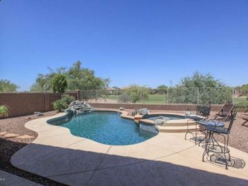 Maricopa house rental - Great pool and golf course view
