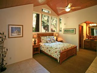 Sundance house photo - Lofty Master Bedroom w/Private Deck and Bath