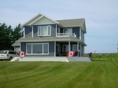 Spectacular Vacation Home With Breathtaking Views... Minutes From Cavendish.