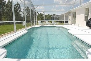 52ft x 26 ft pool and deck area