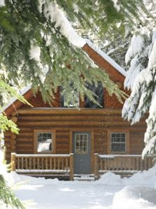 private log cabin