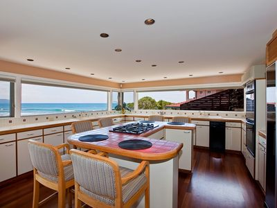Kitchen with Panoramic Oceanviews