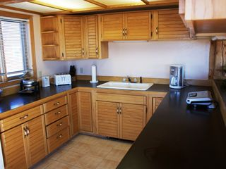 Pagosa Springs house photo - Fully Equipped Kitchen, Microwave, Toaster, Coffee Pot, Foreman Grill