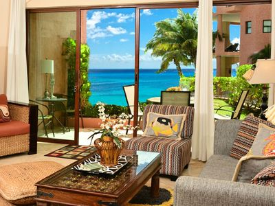 Ocean View from Luna Encantada A1 Living room