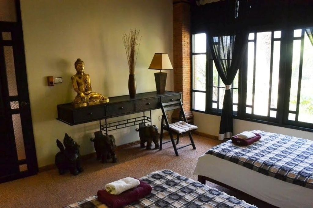 in On Tai with Terrace, Air conditioning, Washing machine () - Chiang Mai - appartement