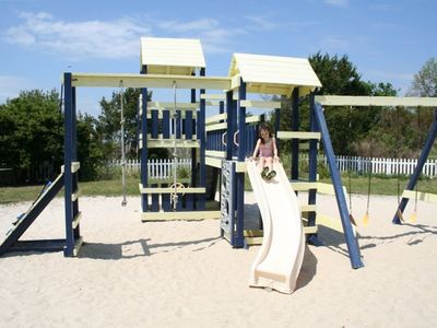 Your little ones will love the playground.