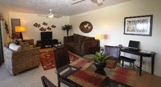 Wailea condo photo - Livingroom with Queensize Sleeper Sofa and HD, Flatscreen TV, iPod doc