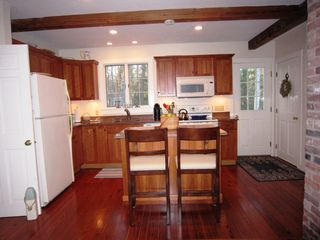 Brewster house photo - .Kitchen with Island and Seating
