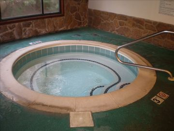 Hot tub in the Ocean Dunes Recreation Center