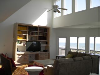Isle of Palms house photo - The Great Room is two stories high with windows above. On the ocean