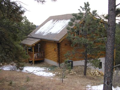 Custer vacation rental vrbo 571653 3 br black hills for Cabins near custer sd