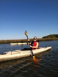 Enjoy kayaking? Or try paddle boarding!