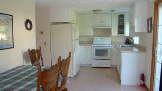 Sand Hill Cove house photo - Kitchen/dining area