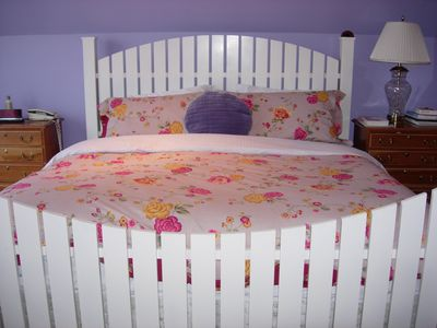King Size Bed in Third Floor Master Bedroom