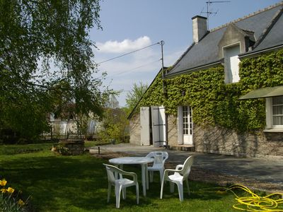Country cottage at brehemont inside the old touraine in the Loire valley