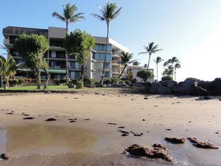 Maalaea condo photo - Enjoy quiet solitude on the small sand beach directly in front of the Milowai.
