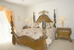 Highlands Reserve bungalow rental - Beautiful Italian King Size Master Suite