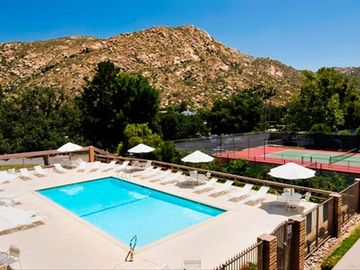Ramona condo rental - Swimming Pool and Tennis Courts at the Riviera Oaks Resort and Tennis Club
