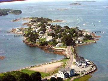 Harpswell house rental - Aerial view