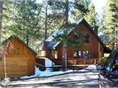 View from the driveway - Truckee cabin vacation rental photo