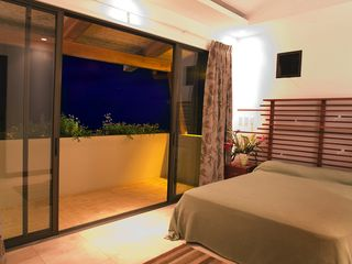 Dominical villa photo - VIP Guest Suite w/ private bath, balcony, and killer view. Comparable to master!