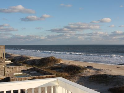 Rodanthe house rental - Ocean View from Upper Deck