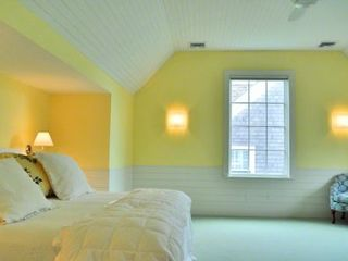 Edgartown house photo - Master Suite Has Sunny Windows & Vaulted Ceiling