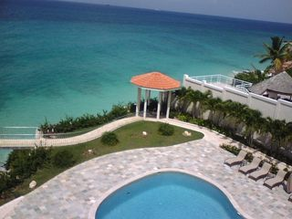Cupecoy condo photo - This is a view of the resort !!