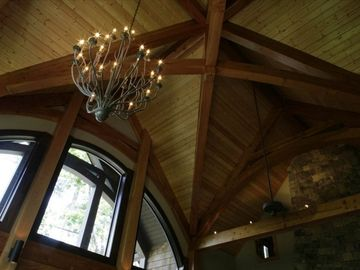 Gorgeous arched ceilings on the main level will take your breath away.
