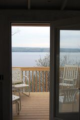 Ithaca cottage photo - Step on to the deck...