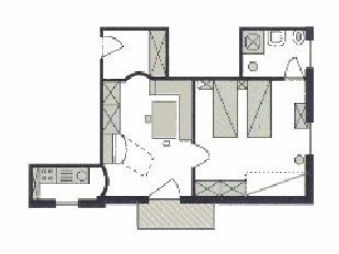 Apartment Type 1 - lay-out