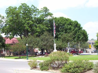 Downtown New Braunfels (two blocks away)