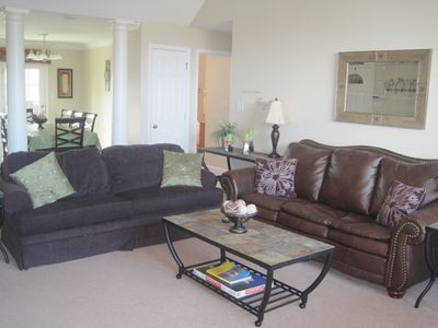 Sevierville condo rental - Living room with sleeper sofas