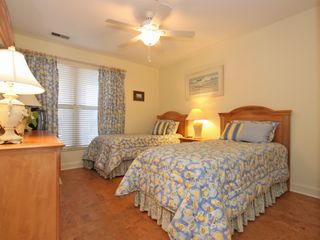 Isle of Palms condo photo - Twin bedroom with sea creature decor